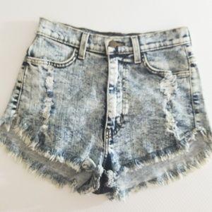 Vibrant m.i.u. high waist shorts